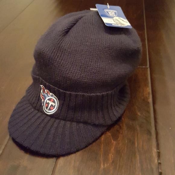 ebfcf33f Reebok Accessories | Tennessee Titans Winter Knit Visor Hat | Poshmark